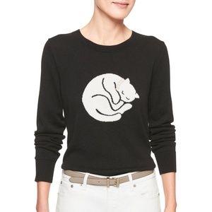 {Banana Republic} Black Kitty Sweater